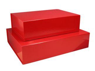 25 Magneetdoos 23x23x11 cm VBD060 rood