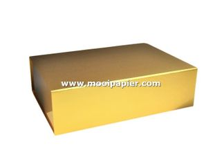 25 Magneetdoos  22x16,5x3 cm VPD077 goud