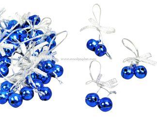 100 Kerstbelletjes blauw