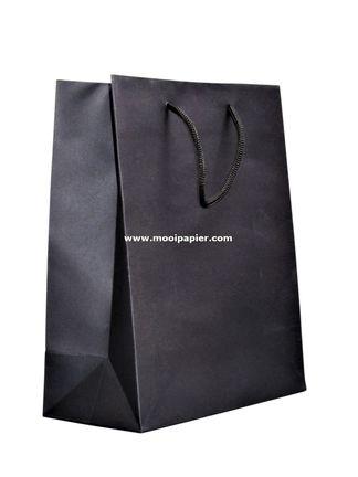 50 Torino Tasjes zwart 20x25 cm