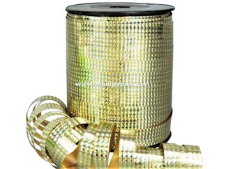 Holo lint goud 10 mm