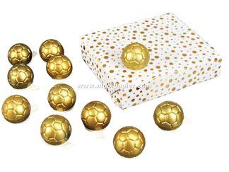 100 Deco Voetbal goud