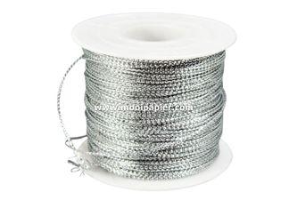 IJzerkoord zilver
