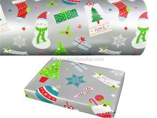 Kerstpapier R29703B