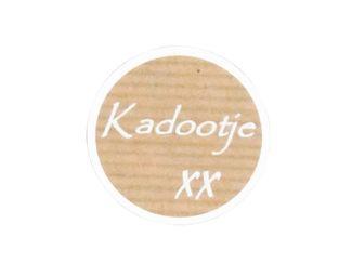 500 Etiket Kadootje 1