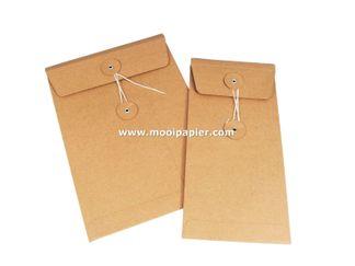 100 geschenk envelop 11x22 cm Kr.