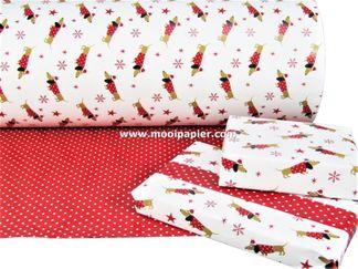 Kerstpapier R32201R