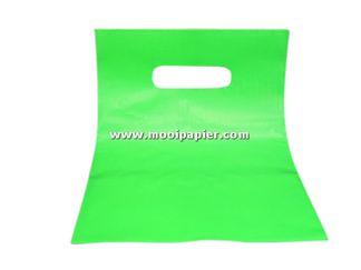 Plastic tas 22/30cm gr