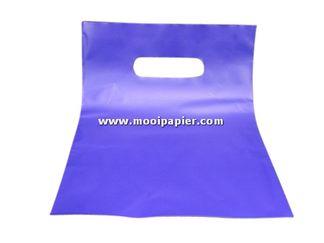 Plastic tas 22/30cm prs