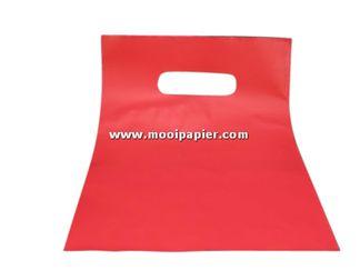 Plastic tas 22/30cm rd