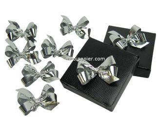 200 strikjes zilver
